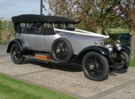 Vintage 1921 Rolls Royce hire in Rochester